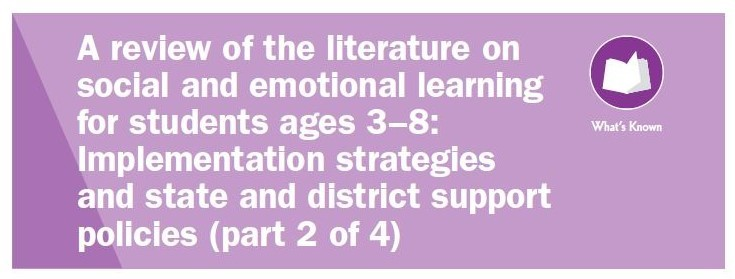 Social Emotional Learning Literature Review (Part 2)