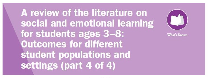 Literature Review on Social and Emotional Learning (Part 4)