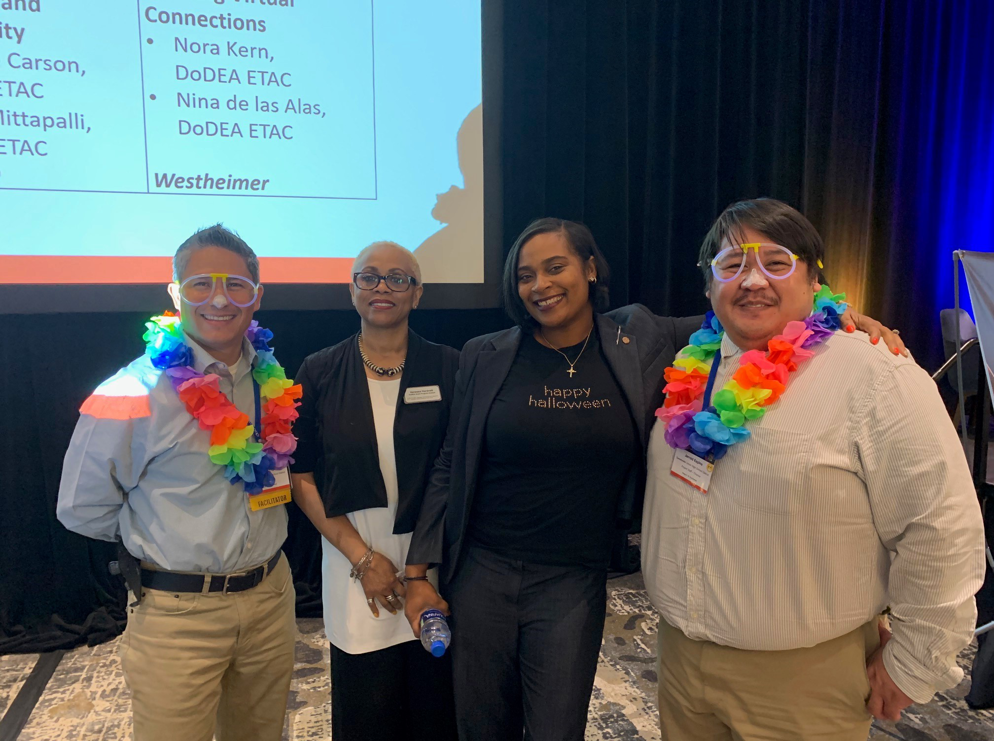 Picture of DoDEA and Grantee teams from 2019 Community of Practice Meeting
